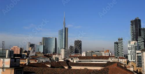 fototapeta na ścianę Milano moda e business