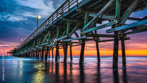Pier Sunset © David