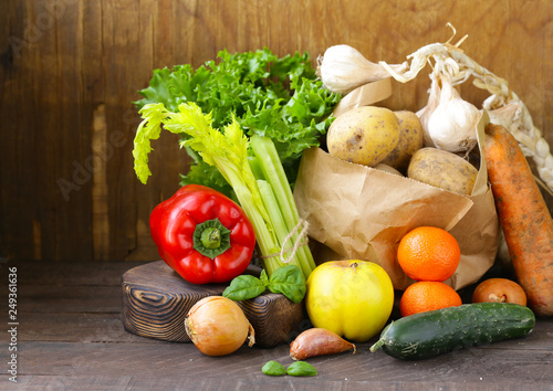 Organic Vegetables from the Farmers Market