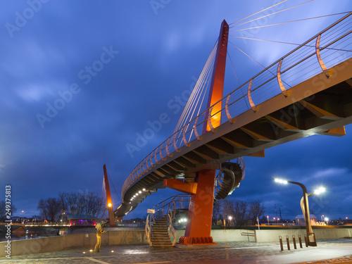 footbridge  Jelgava, Latvia