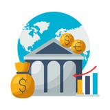 world bank money report chart stock market - 249384891