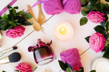 rose natural cosmetic