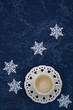 Teacup and stars still life