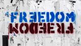 Freedom graffito - 249447230