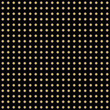 Seamless geometric black and golden pattern. Modern ornament with dotted elements. Geometric abstract pattern - 249460808