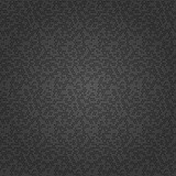 Seamless background with black random elements. Abstract ornament. Dotted abstract pattern - 249461024