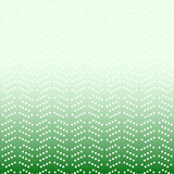 Geometric modern green and white pattern. Fine ornament with dotted elements. Geometric abstract pattern - 249461097