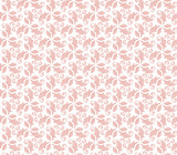 Floral pink ornament. Seamless abstract classic background with flowers. Pattern with repeating floral elements - 249462045