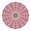 Mandala. Vintage elements illustration