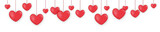 banner heart shaped balloons for valentines day birthday wedding
