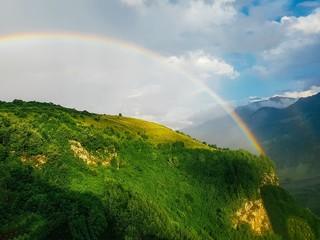 rainbow in the mountains © Ксения Корсакова