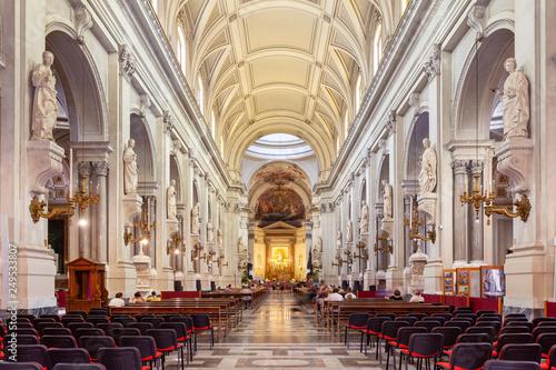 Leinwanddruck Bild Cattedrale di Palermo, Santa Vergine Maria Assunta, Sicily, Italy