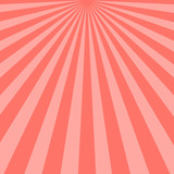 Abstract pink sunbeams background. Vector illustration. - 249535415