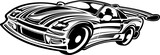 Street race car