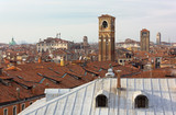 Venice Skyline in a Winter Afternoon