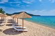 Beautiful beach in Toroni, Greece