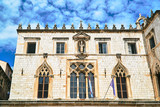 Facade of the rectors palace in the city of Dubrovnik, Croatia.. - 249678216