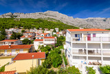 Baska Voda - a beautiful tourist village on the Adriatic coast, Dalmatia region, Croatia