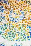 Arrière plan carreaux de ciment en mosaïques - 249692879