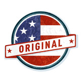 Origial USA label illustration