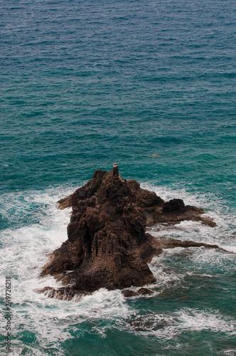 Leinwanddruck Bild Punta de Los Roquetes Teneriffa Kanaren