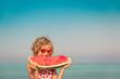 Child Summer Vacation Beach Sea