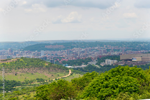 Panorama of the city of Pretoria South Africa. © kamira
