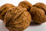 walnuts, macro photo - 249797493