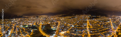 Nocturnal Quito City - 249822424