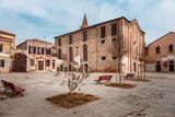 historic buildings in Venice, Italy