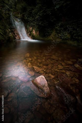 Wasserfall im Schwarzwald - 249836814