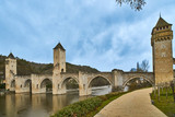 Valentre Bridge, Cahors, France