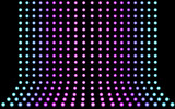 Simple abstract background with halftone dots - vector illustration