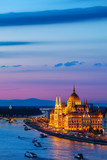 Evening in Budapest - 249880627