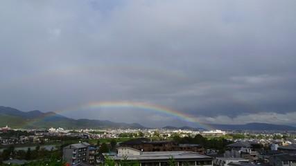 rainbow over city © Mohammed Ghulam
