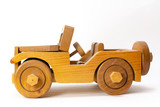 Wooden Toy Jeep