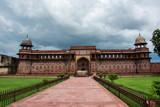 Fuerte Rojo de Agra, India - 249901698