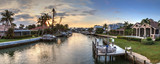 Waterway leading to the Gulf Coast of Marco Island, - 249953840