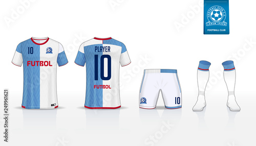 e626773bb Soccer jersey or football kit t-shirt sport
