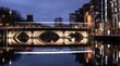 Leinwanddruck Bild - Bristol Bridge