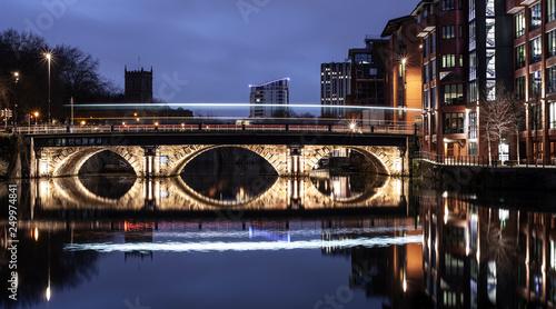 Leinwanddruck Bild Bristol Bridge