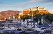 Leinwanddruck Bild - Austria - Salzburg