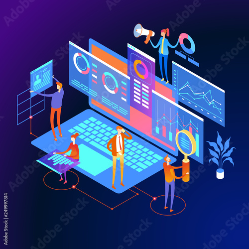 Digital marketing strategy Web Banner