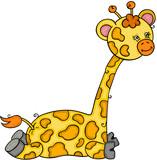Cute little giraffe