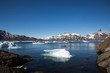 Leinwanddruck Bild - Die Wildnis Grönlands