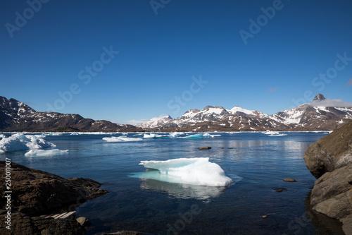 Leinwanddruck Bild Die Wildnis Grönlands