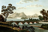 Landscape with old bridge