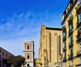 detail of piazza del gesu in naples - 250060625