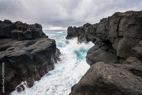 Vue sur la mer aux Açores © Yannick