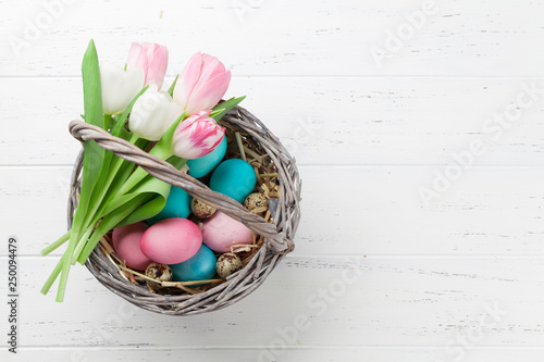 Easter greeting card - 250094479
